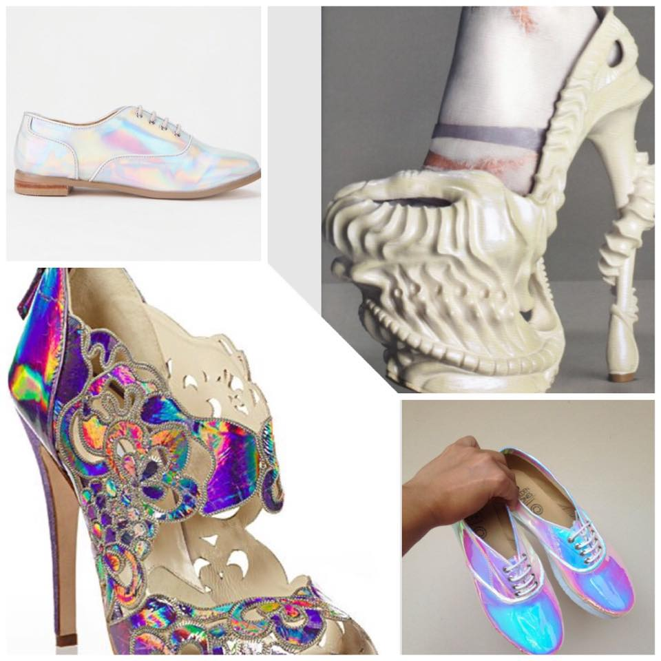 pearly shoes