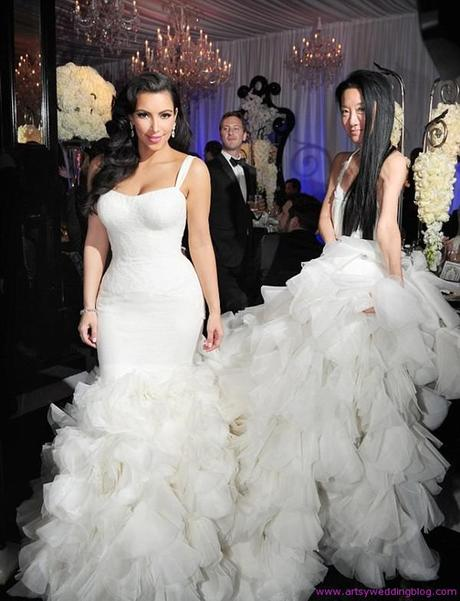FOUR OF THE MOST BREATHTAKING CELEBRITY WEDDING DRESSES