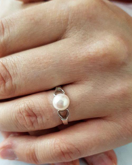 New ring silver ring thanina