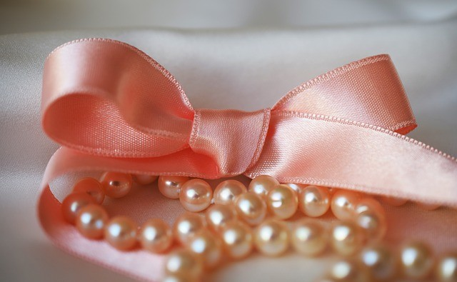 pink pearl jewelry