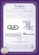 product certificate: B-AAA-758-S-Akoy