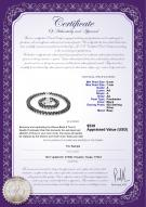 product certificate: B-F-67-Weave