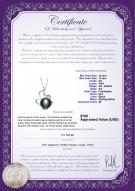 product certificate: FW-B-AA-1213-P-Oceane