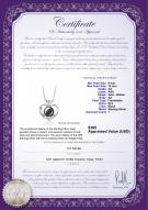 product certificate: FW-B-AA-910-P-Marlina