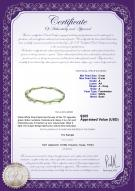 product certificate: FW-G-A-56-N-Jasmine