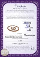 product certificate: FW-P-A-67-Weave