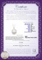 product certificate: FW-W-AA-1213-P-Judith