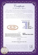 product certificate: P-AAA-78-S