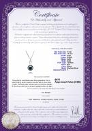 product certificate: TAH-B-AAA-910-P-Courtney