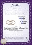 product certificate: W-AAA-78-S