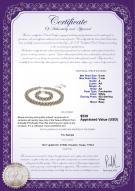 product certificate: W-F-67-Weave
