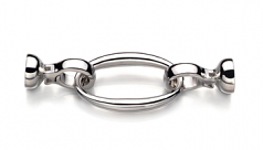 Clasp in Ebba - Sterling Silver