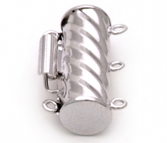 Clasp in Draycott - 14K White Gold