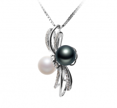 6-7mm AAAA Quality Freshwater Cultured Pearl Pendant in Davina Multicolor