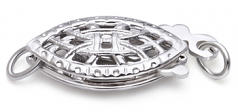 Clasp in Cornwall - Sterling Silver