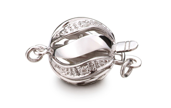 Clasp in Buckingham - 14k White Gold