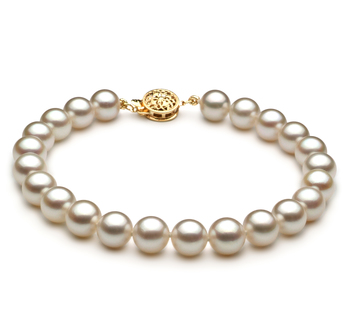 7 5 8mm Aaa Quality Anese Akoya Cultured Pearl Bracelet In White For Pearls Only