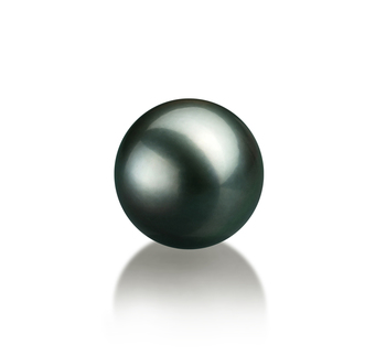 10-10.5mm AAA Quality Tahitian Loose Pearl in Black