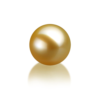 10-11mm AAA Quality South Sea Loose Pearl in Gold