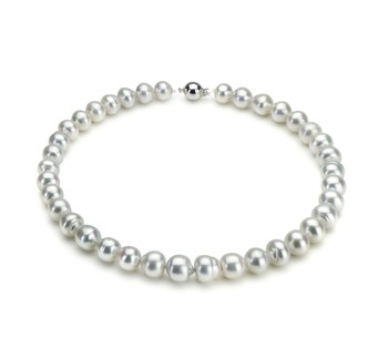 10-12.9mm A Quality South Sea Cultured Pearl Necklace in White