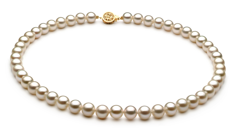 7-8mm AAAA Quality Freshwater Cultured Pearl Set in White - #2