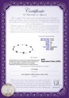 product certificate: BW-F-57-Sophia