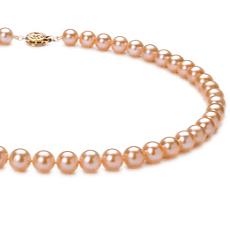 Pink Freshwater Pearl Necklaces