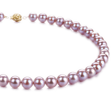 Lavender Freshwater Pearl Necklaces
