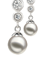 Japanese Akoya Pearl Earrings