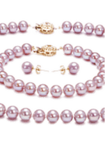 Lavender Color Pearl Sets