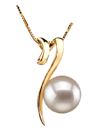 Single pearl necklaces pearl pendants and pearl drop necklaces japanese akoya pearl pendants mozeypictures Choice Image