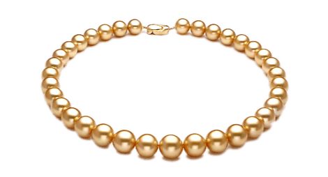 Golden South Sea Pearl Necklaces