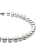 White Color Pearl Necklaces