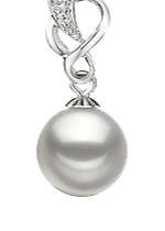 White Color Pearl Pendants