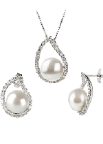 White Color Pearl Sets