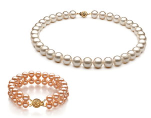 Gorgeous Pearl Necklaces and Bracelets
