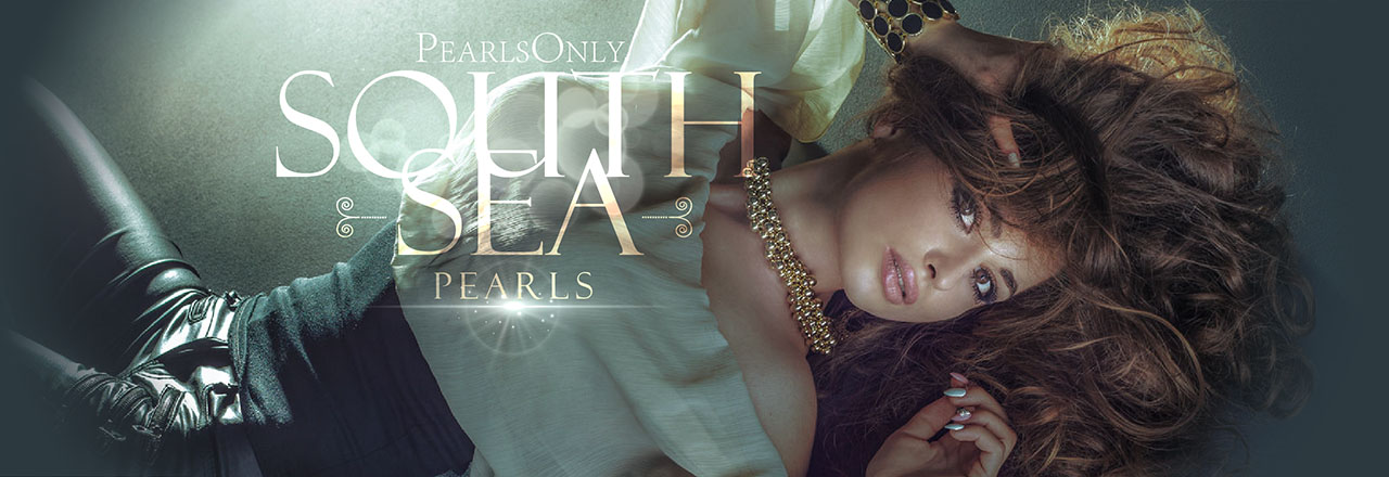 Landing banner for South Sea Pearls