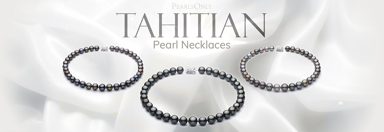 Landing banner for Tahitian Necklace